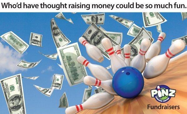 Fundraising at Pinz