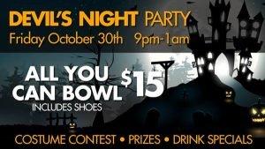 Spend A Spooky Halloween At Pinz!