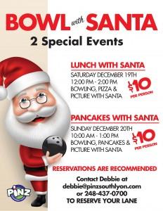 Bowling With Santa!