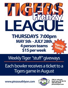 Tigers Bowling League