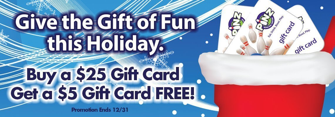 Buy your gift card today