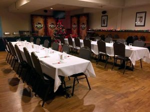 Holiday Party room