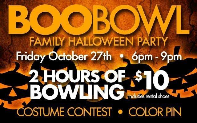Boo Bowl at Pinz