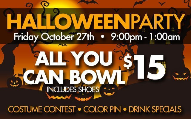 Halloween Party at Pinz