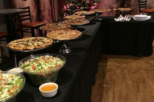 Pizza Buffet for Holidays