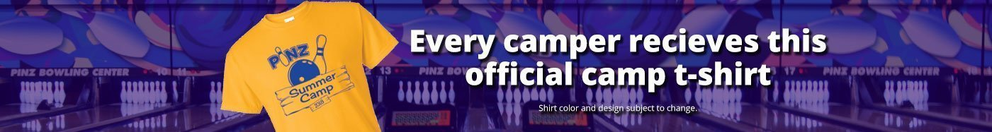 Free Shirt for Pinz Campers